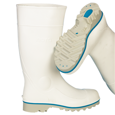 Nora Multiralf sikkerhedsstøvle hvid